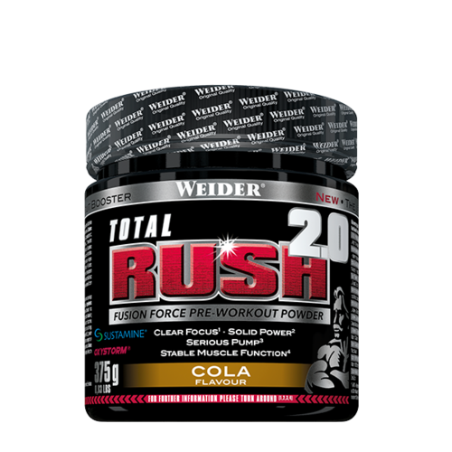Weider TOTAL RUSH 2.0 375g Dose (70,40€/Kg)