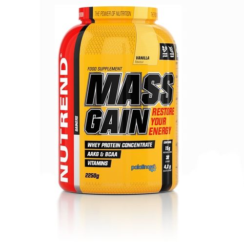 Nutrend Mass Gain 2250g Dose Gainer Eiweiss Carbs (15,96€/Kg)