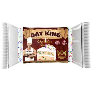 Oat King Birthday Cake 100g Riegel (28,00€/Kg)