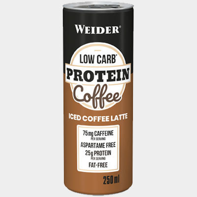 Weider Low Carb Protein Coffee 250ml Dose (6,00€/l)
