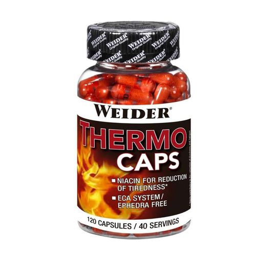 Weider Thermo Caps 120 Kapseln Fatburner (196,88€/Kg)