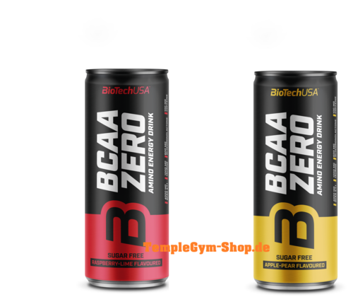 BioTech USA BCAA Zero Energy Drink 330ml Dose (6,80€/l)